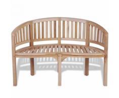 Meelady Banc de jardin en bois 120 x 52 x 86 cm pour 2 personnes - Chaise