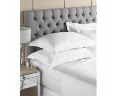 Riva Home Egyptian - Drap (Lit simple) (Blanc) - UTRV103 - Linge de lit