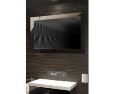 Miroir de salle de bain Infinity à reflet parfait, éclairage DEL RVB K216Lrgb - Miroir