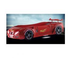 Lit enfant voiture racing Airone - rouge - Cadre de lit