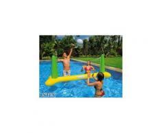 Jeu de volley flottant - Intex - Jeu d'extérieur pour piscine - Objet à poser