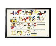 Vassily Kandinsky Paillasson Essuie-Pieds - Succéssion, 1935 (40x60 cm) - Tapis et paillasson