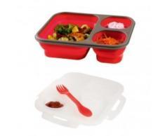 Lunch Box multi-compartiments déployables - Accessoires préparation culinaire