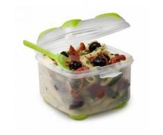 Unbranded cuisson lunch box 14x14x12 cm - transparent - plastique 8010502 - Conservation