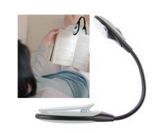 Lampe de lecture flexible LED pour livre, bricolage... -blanc - Ampoules à LEDs