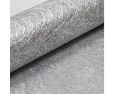 Chemin de table Intissé Argent métallisé - 30 cm x 5m - Objet à poser