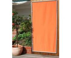 Paravent extérieur, intérieur Terracotta en polyester 140 g/m² anti-UV avec 1 panneau, 170 x 70 cm -PEGANE- - Objet à poser