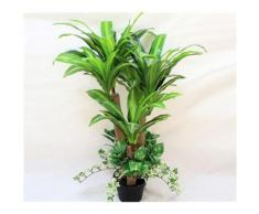 Plante artificielle à poser Dracaena avec lierre décoratif Intérieur - Hauteur 100cm - Objet à poser