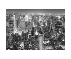 New York Papier Peint Photo/Poster - Vue De L'Empire State Building, 8 Parties (254x368 cm) - Décoration murale