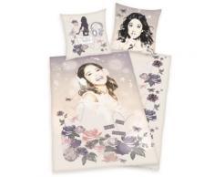 Housse De Couette Enfant Violetta Parme 140X200Cm - Linge de lit