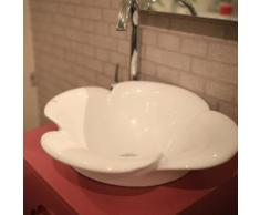 Meuble de salle de bain double vasque 60cm Rose - Meubles de salle de bain