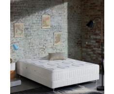 Ensemble Simmons matelas Excellence Luxe 180x200 + 2 sommiers 90x200 + pieds - Ensembles matelas et sommier