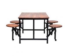 Table en bois Space Kare Design - Tables salle à manger
