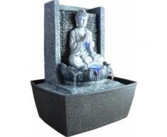 Zen'light scfrb1 fontaine d'intérieur mur bouddha prière gris foncé/noir 20 x 15 x 26 cm - Accessoires de rangement