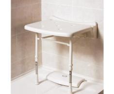 Akw - siège de douche rembourré compact sans coussin série 2000 (accessibilité pmr) - Installations salles de bain