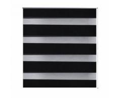 Store enrouleur noir tamisant 120 x 230 cm fenêtre rideau pare-vue volet roulant - Fenêtres et volets