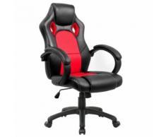 Racing Chaise de Bureau - IntimaTe WM Heart - Fauteuil de Bureau Moderne Confortable Ergonomique En Similicuir PU Haute Dossier Siège Gamer (rouge) - Sièges et fauteuils de bureau
