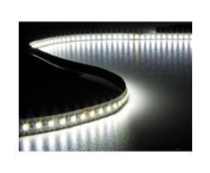 Flexible à led - blanc froid 6500k et blanc chaud 3500k - 600 led - 5m - 24v velleman lq24n550cwwn - Appliques et spots