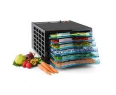 Klarstein Fruit Jerky 6 Basic Déshydrateur alimentaire Séchoir à fruits - sans BPA, 630W, 6 étages - Conservation