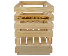 Caisse à oignons en bois - Boite de rangement