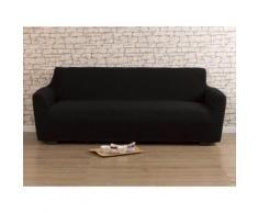 Housse de canapé 3 places bi-extensible LISA Noir