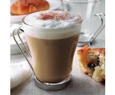 Tasse à café en verre tempéré 22 cl - Lot de 3 pièces OSLO