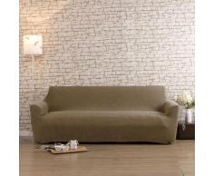 Housse de canapé 3 places bi-extensible LISA Beige