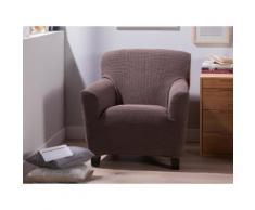 Housse fauteuil 1 place bi-extensible LISA Taupe
