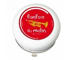 Radio de douche en polypropylène Fanfare du matin D.9.5cm BASICS