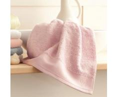 Serviette de toilette coton/bambou 650gr/m2 50x100cm BAMBOO Rose
