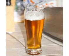 Verre à bière en cristallin H.17cm 30cl - Lot de 6 OPEN BAR