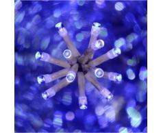 Guirlande lumineuse intérieure 50 LEDs bleue 2,5m