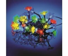 Guirlande lumineuse solaire Fleurs 35 LED VIRAGE