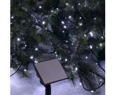 Guirlande solaire LED 10 - 15 - 20 Mètres Blanche ou Multicolore CODICO