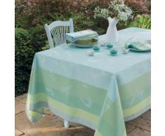 Lot de 4 serviettes de table Envolée GARNIER THIEBAUT, Brume, 55 x 55 cm
