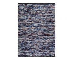 Tapis violet en laine et coton Reflection Esprit Home, 60 x 110 cm