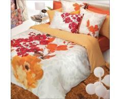 Taie d'oreiller satin Blossom GARNIER THIEBAUT, 65 x 65 cm