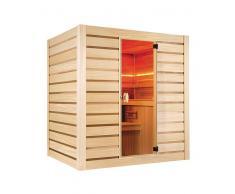 items-france ECCOLO 6PL - Sauna conomique traditionnel eccolo 6 places 200x175x...