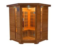 items-france LUXE 3/4 PL - Sauna infrarouge luxe 3/4 places 150x150x190cm