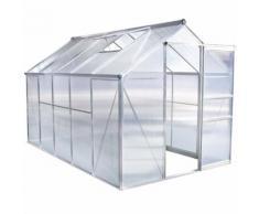 Serre de jardin polycarbonate - 5,93 m²