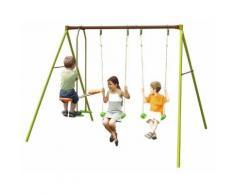 Portique métal TRIGANO 2,50 m. 4 enfants.