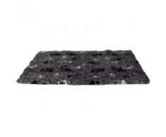 Tapis pour chien antidérapant gris anthracite Silky Anka Longueur 75 cm x Largeur 50 cm