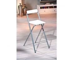 Leylina chaise pour table de bar de couleur blanc