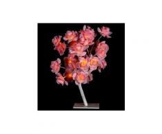 Arbre lumineux de table Gloria H45 cm Rose