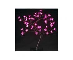 Arbre lumineux de table Dévoluy H45 cm Rose