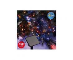 Guirlande lumineuse Solaire 15 m Multicouleur 150 LED