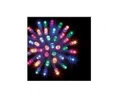 Guirlande lumineuse Technobright 10 m Multicouleur 100 LED CT
