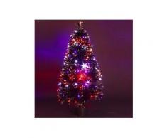 Sapin de Noël en fibre optique Barnaby H90 cm